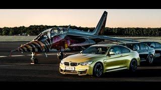 High-Speed Manöver und das BMW Head-Up Display