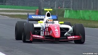 2014 Formula Renault 3.5 with AMAZING V8 Sound