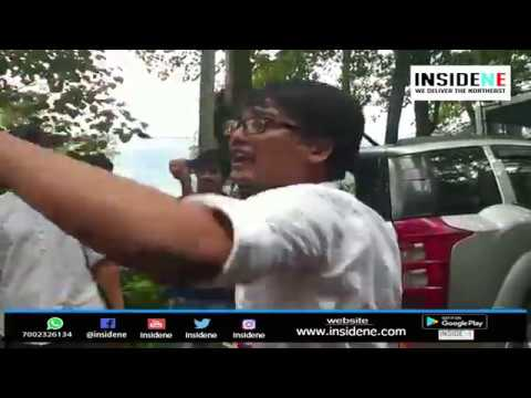 Sikkim Progressive Youth Forum Held Protests Against Defection of SDF MLAs to BJP and SKM