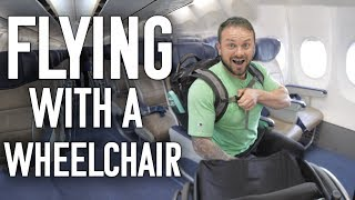 How To Fly Independently In a Wheelchair - My Top Tips and Tricks