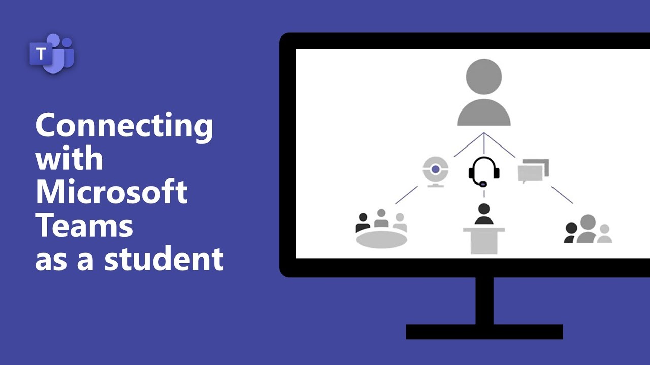 Connecting with Microsoft Teams as a student