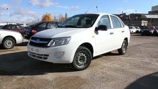 2012 Lada Granta AT. Start Up, Engine, and In Depth Tour.