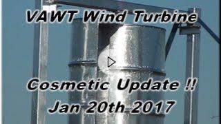 Wind turbine LOOKING GOOD :) 20 01 2017