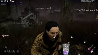 Dead by Daylight RANK 1 SURVIVOR! - MYERS NO! YOU'RE SCARY!
