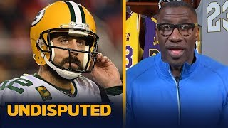 Rodgers is upset, Packers aren't closer to Super Bowl with Jordan Love — Shannon | NFL | UNDISPUTED