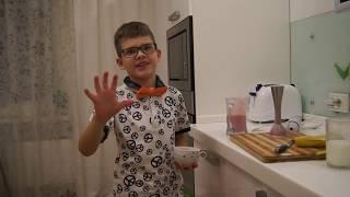 Смотреть Молочный коктейль с клубникой за 2 минуты онлайн