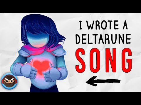 "My DELTARUNE SONG ""In a Dark World"" (feat. Cami-Cat)"