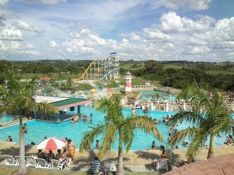 Parque Aquático na Cidade da Criança em Presidente Prudente-SP
