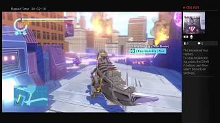 Tyrone Magnus Plays: (GRIMLOCK) Transformers Devastation Live PS4 Broadcast #7!!!