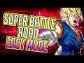 INT LR SUPER VEGITO SUPER BATTLE ROAD EASY MODE! Dragon Ball Z Dokkan Battle