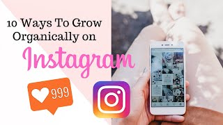 10 Ways To Grow Organically On Instagram  | Etsy Tutorials