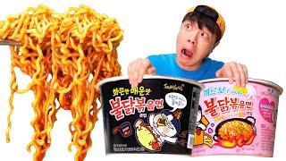 Mukbang Spicy Noddle 불닭볶음면 먹방 BBororo Noodle AliceWorld