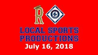 Blue Sox Baseball on LSP - Somerville Royals @ Lexington Blue Sox, 7.16.2018