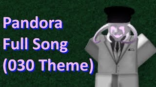 Pandora Theme Full Song