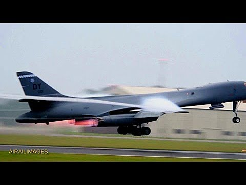 B-1B dropping mines during BALTOPS - June 2018