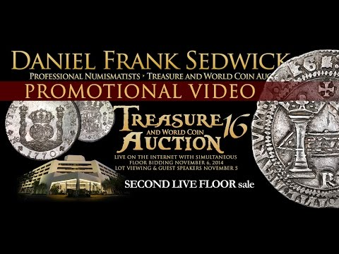 VIDEO PROMO: Treasure Auction #16 Daniel Frank Sedwick LLC
