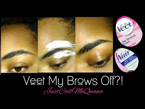 Veet/Nair Eyebrows | Let