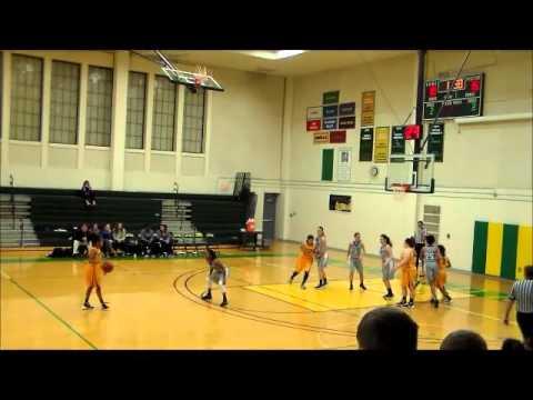 Glen Oaks Woman's Basketball V S Kellogg
