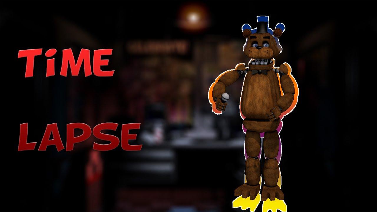 Cinema 4D | Five Nights at Freddy's Freddy Modeling | Timelapse