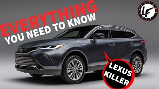 Watch Out Lexus! The 2021 Toyota Venza Is A Killer