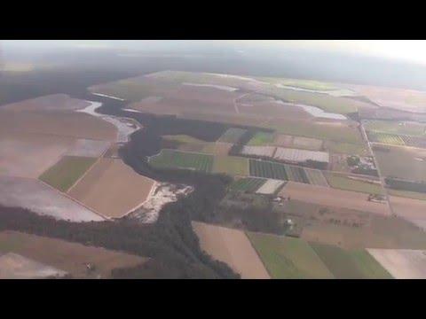 Landing At Bundaberg Airport, Queensland, Australia - 28th August, 2015