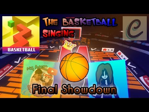 Dancing Line Singing - Final Showdown (The Basketball) Ft. NG Adem & [helpme](I Don't Need Help)