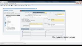 Oracle ERP Applications : R12 Responsibility Creation