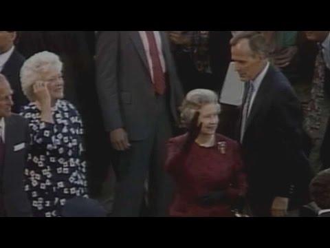Queen Elizabeth II attends game