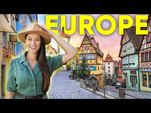 Top 12 AMAZING Places to Travel in Europe 2021