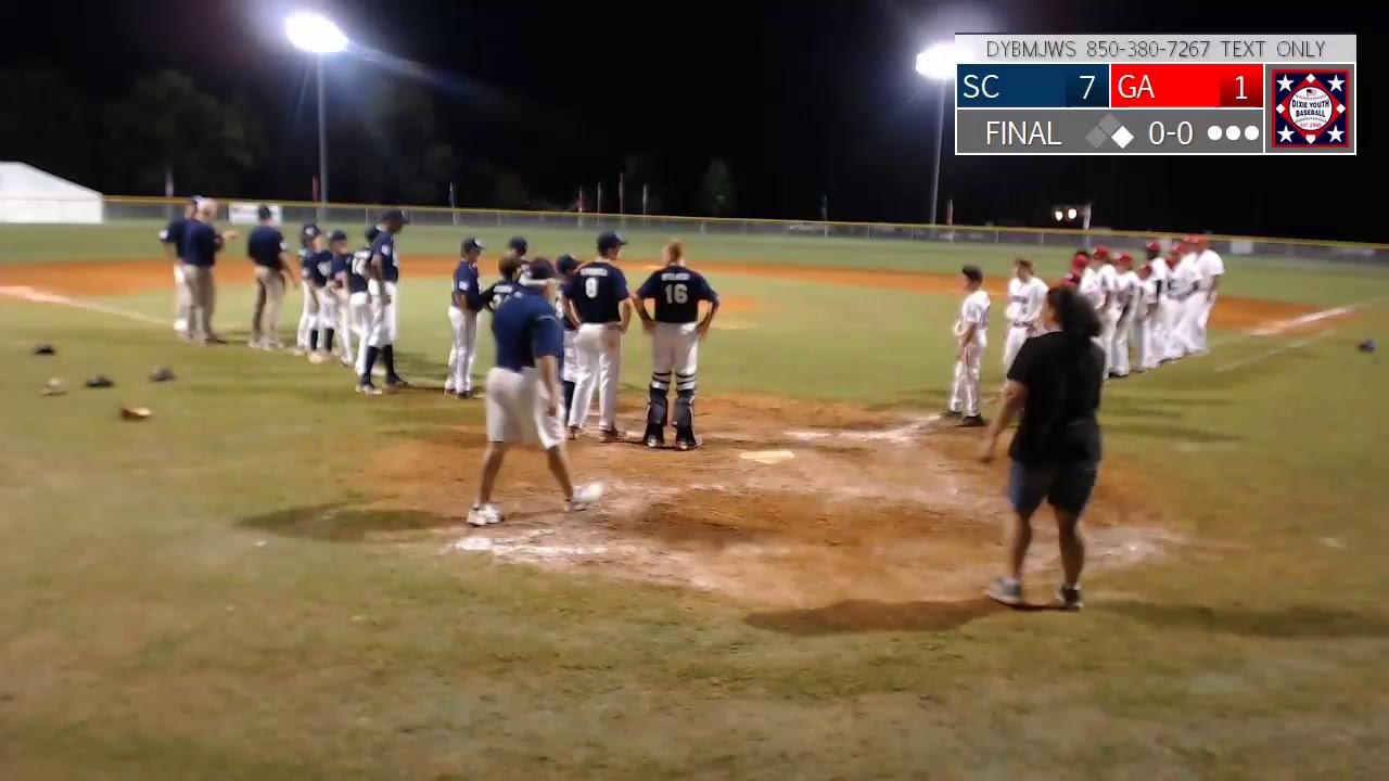 South Carolina vs  Georgia - DYB Majors WS - YouTube