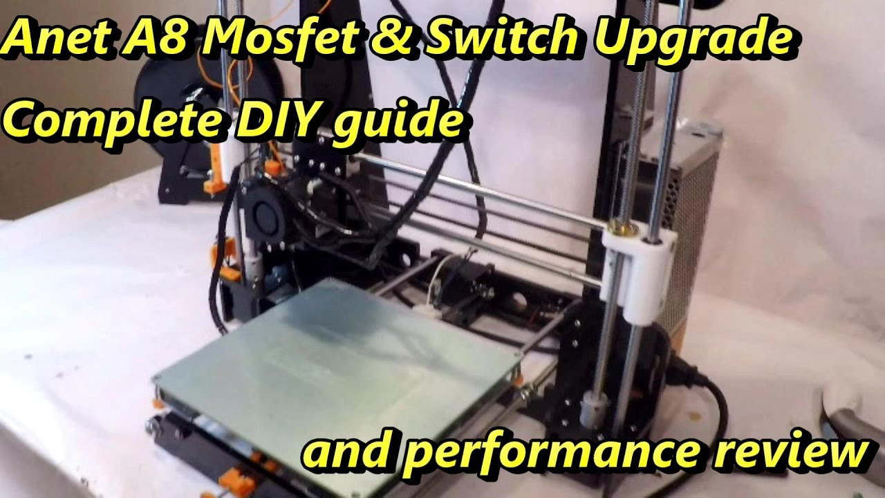 maxresdefault anet a8 mosfet and power switch upgrade diy guide youtube anet a8 mosfet wiring diagram at eliteediting.co