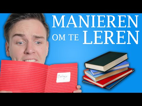 10 MANIEREN OM TE LEREN! from YouTube · Duration:  3 minutes 52 seconds