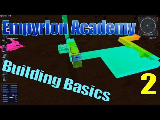 Empyrion Academy - Building Hints & Tips