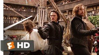 The Three Musketeers (2/9) Movie CLIP - Four Against Forty (2011) HD