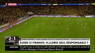Fabien Barthez revient sur la bourde d'Hugo Lloris