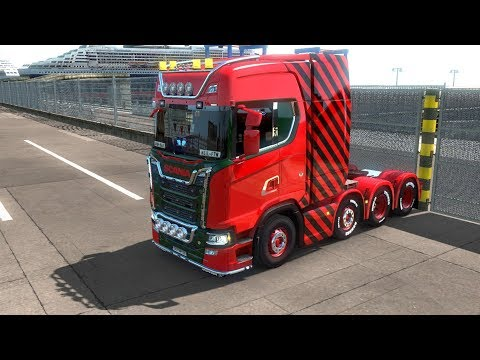 Euro Truck Simulator 2 Multi-Play with Neil