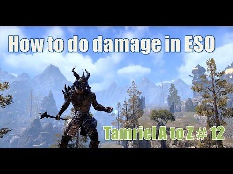 How you do damage in Elder Scrolls Online