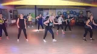 Play-N-Skillz Backy G Thalia \u0026 Chiquis - Baila Asi Zumba Choreo By Monika Bartnik MoNaO