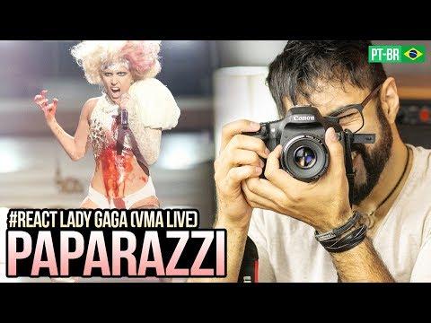 REAGINDO a Lady Gaga - Paparazzi VMA