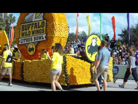 Florida Citrus Parade 2015: (Part 2 - Orlando Fire Dept, Shawnee Mission NW, WDW Disney Parks)