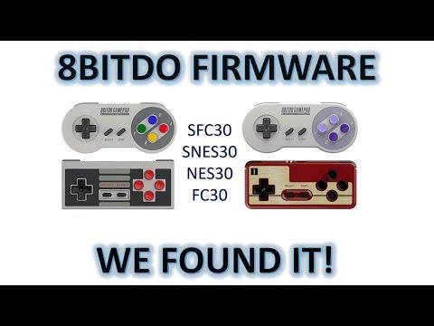 8bitdo SNES30 / SFC30 / NES30 / FC30 Firmware update file location