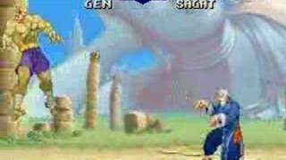 Street Fighter Zero2(1996) SNES Version Play Movie.