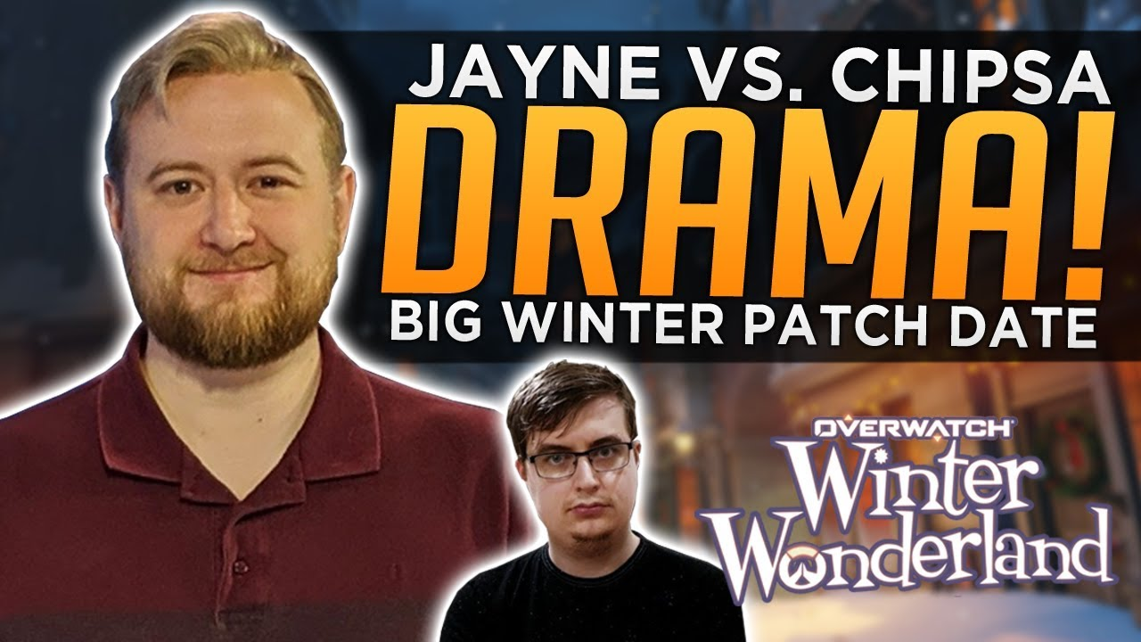 Overwatch: Jayne vs. Chipsa DRAMA! - BIG Winter Patch Release Date thumbnail