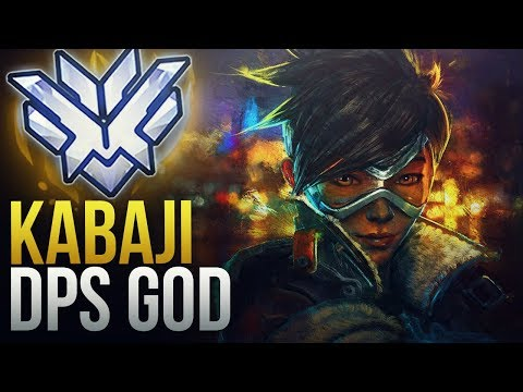 """Best Of """"Kabaji"""" -  UNREAL DPS GOD - Overwatch Montage thumbnail"""