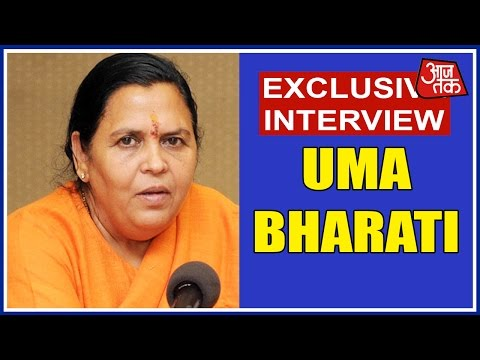 Aajtak Exclusive: Uma Bharti On The Ongoing UP Assembly Elections 2017