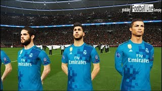 Bayern Munich vs Real Madrid | UEFA Champions League (UCL) | PES 2018 Gameplay PC