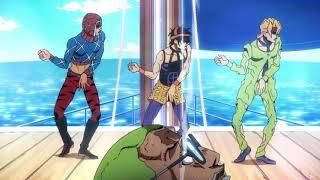 Mista and Narancia and Fugo Dance - JoJo's Bizarre Adventure Part 5: Golden Wind Ep 7