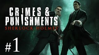 Thumbnail für das Sherlock Holmes: Crimes & Punishments Let's Play