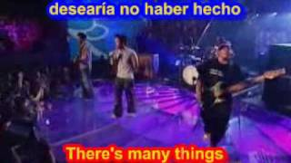 Hoobastank  - The Reason ( SUBTITULADO INGLES ESPAÑOL )