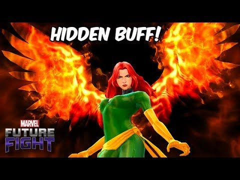 FIRE RESIST DOWN? NO CTP JEAN GREY DAMAGE TEST! - Marvel Future Fight